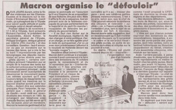 Lettre D Annie Lobe Au President De La Republique Emmanuel Macron